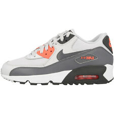 Nike Air Max 90 Mesh GS Shoes Trainers platinum grey glow 833340-006 Essential
