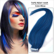 "20pc Remy Brazilian Tape in Skin Weft Omber Virgin Human Hair Extensions 16""-24"""