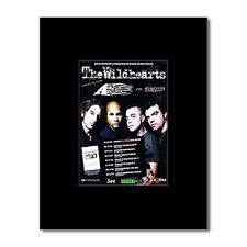 WILDHEARTS - UK Tour 2008 Mini Poster - 10x13.5cm