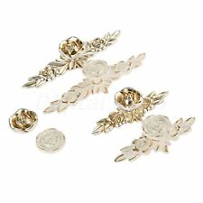 European Retro Rose Handles Alloy Modern Door Drawer Wardrobe Cabinet Pull Knobs