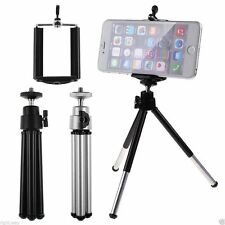 Mini Tripod Stand For Digital Camera + Phone Holder for iPhone Samsung Sony