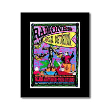 RAMONES - Matted Lindsey Kuhn Mini Poster - 21x28.5cm