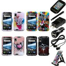 For Motorola Atrix 4G Design Snap-On Hard Case Phone Cover Accessories