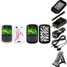 For BlackBerry Bold Touch 9900 9330 Silicone Design Skin Soft Case Accessories