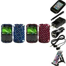 For BlackBerry Bold Touch 9900 9330 Design Snap-On Hard Case Cover Accessories