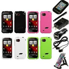 For HTC Rezound Rigid Plastic Hard Snap-On Case Phone Cover Accessories