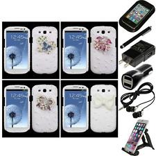 For Samsung Galaxy S3 Diamond Bling Rhinestone Case Phone Cover Accessories
