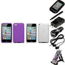 For Apple iPod Touch 4th Gen Silicone Skin Rubber Soft Case Cover Accessories