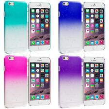 For Apple iPhone 6 (4.7) Crystal Raindrop Waterdrop Hard Case Cover Clear Color