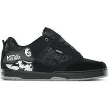 ETNIES Skateboard Shoes METAL MULISHA CARTEL BLACK/BLACK/WHITE