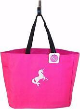 Mystical White Unicorn Essential Tote Bag Custom Embroidered + Name Birthday Bag