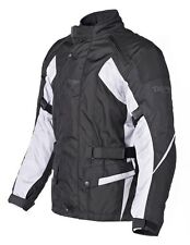 Triumph Mens Acton 2 Black Grey Motorcycle Armoured Jacket NEW RRP £139!!!