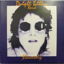 DWIGHT TWILLEY BAND Sincerely LP VINYL UK Shelter 1976 12 Track With Inner Some