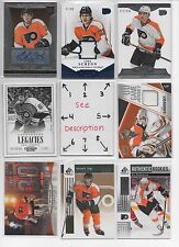 Philadelphia Flyers BLOWOUT Lot #2 - Serial #'d - Rookie - Jersey - Auto  U-PICK