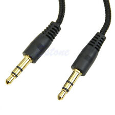 3.5mm Auxiliary AUX Male to Male Stereo Audio Cable Cord for PC iPod MP3 CAR