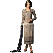 Bollywood Wedding Georgette Embroidered Salwar Kameez Suit India-Glamour-34001-A