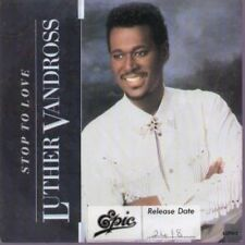 """LUTHER VANDROSS Stop To Love 7"""" VINYL UK Epic 1987 B/W Stop To Love"""