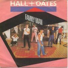 "HALL AND OATES Family Man 7"" VINYL UK Rca 1983 B/W Open All Night In Pic Sleeve"