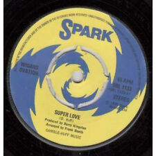 "WIGANS OVATION Super Love 7"" VINYL UK Spark 1975 4 Prong Label Design B/W Stand"