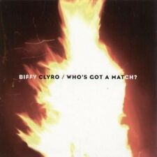 BIFFY CLYRO Who's Got A Match CD European 14Th Floor 2008 1 Track Promo With