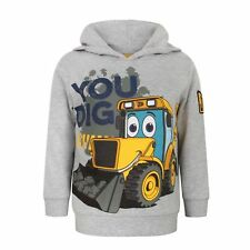 JCB Childrens/Boys Official You Dig Pullover Hoodie