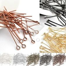 DIY Eye Pins/Head Pins/Ball Pins Jewelry Making Findings Needles All Sizes 30g
