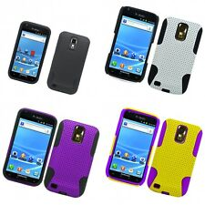 For Samsung Hercules T989 Case Hard Soft Dual Layer Slim Thin Rugged Mesh Cover
