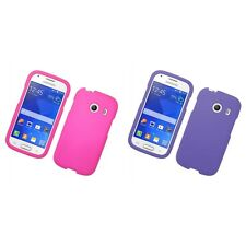 For Samsung Galaxy Ace Style S765C Hard Snap-On Rubberized Phone Skin Case Cover