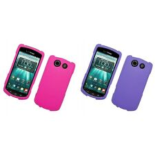 For Kyocera Brigadier Hard Snap-On Rubberized Phone Skin Case Cover