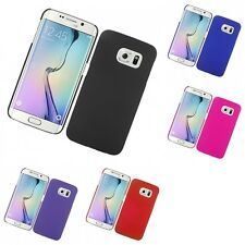 For Samsung Galaxy S6 Edge Hard Snap-On Rubberized Phone Skin Case Cover