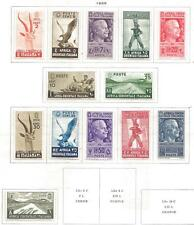 13 Italian East Africa MLH/MH Stamps Scott #1-13 from Quality Old Album 1938