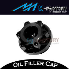 Black CNC Engine Oil Filler Cap Plug Fit Ducati SS 620 750 800 900 1000 91-06