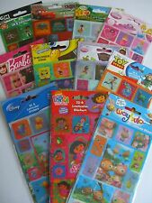 CHARACTER 3D & Lenticular (Moving) STICKERS - 14 Design Range (Disney/Moshi