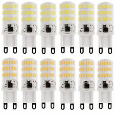 10x G9 7W 46LEDS 4014 SMD LED Light Silicone Crystal Lamp Bulb 110V 220V Bright