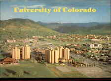 Boulder CO University of Colorado and Williams Village Residence Hall Postcard