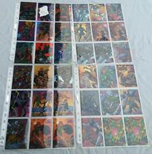 Marvel vs Wildstorm Trading Cards Choose from a selection of Parallel Chromes