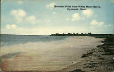 Plymouth MA Manomet Point from White Horse Beach Tichnor Plymouth County PC