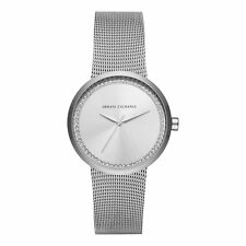 Armani Exchange Street Ladies Analog Watch Casual Silver AX4501