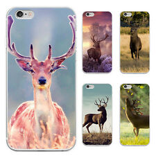 Cute Deer Pattern Case Cover for iPhone 5/6/6S/6 7Plus Samsung Galaxy Refined