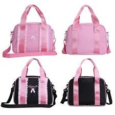 Girls Ballet Duffle Bag Gymnastics Dance Shoe Shoulder Strap Bags Tote Handbag
