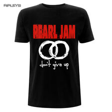 Official T Shirt PEARL JAM Classic Logo Don't Give Up All Sizes