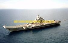 Russian Navy Aircraft Carrier Admiral Kuznetsov Color Photo Military USS Russia