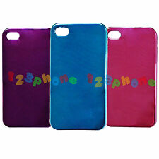 BRAND NEW PLASTIC PAINT HARD BACK COVER CASE FOR IPHONE 4 / 4S