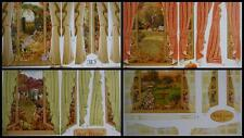 Flower Soft - 3D Picture Window Card Topper Autumn Garden 4 to choose from NE