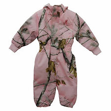 BROWNING REALTREE PINK CAMOUFLAGE OWLET SNOWSUIT - GIRLS TODDLER CAMO SNOW PANTS