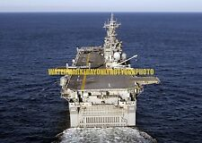 USS Wasp LHD-1 Color Photo Military Navy Amphibious Assault Ship LHD 1 USN Vet