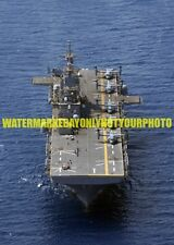 USS Wasp LHD-1 Color Photo Military Navy Amphibious Assault Ship LHD 1 USN MV-22