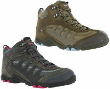 Hi-Tec Penrith Mid Waterproof Walking Leather Suede Trail Hiking Boots Womens