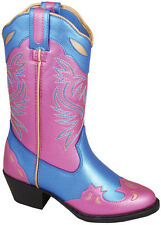 NEW! Smoky Mountain Boots - TODDLER - Western Cowboy - Blue & Pink