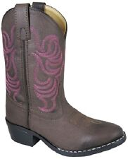 NEW! Smoky Mountain Boots - TODDLER - Western Cowboy - Brown & Pink